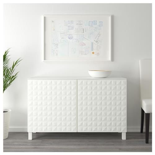 BESTA σύνθεση αποθήκευσης με πόρτες - IKEA