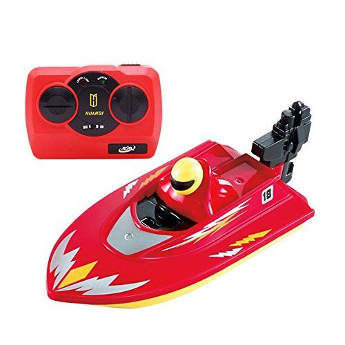 Egoelife 40 MHZ High Speed Remote Control Electric Toy Boat Racing RC Motor Boat