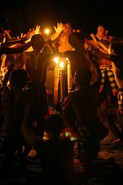 Dancers performing kecak, Bali, Indonesia. You must see one of these kecak dances..FABULOUS