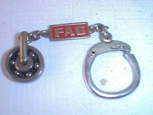 Pin on ball bearings