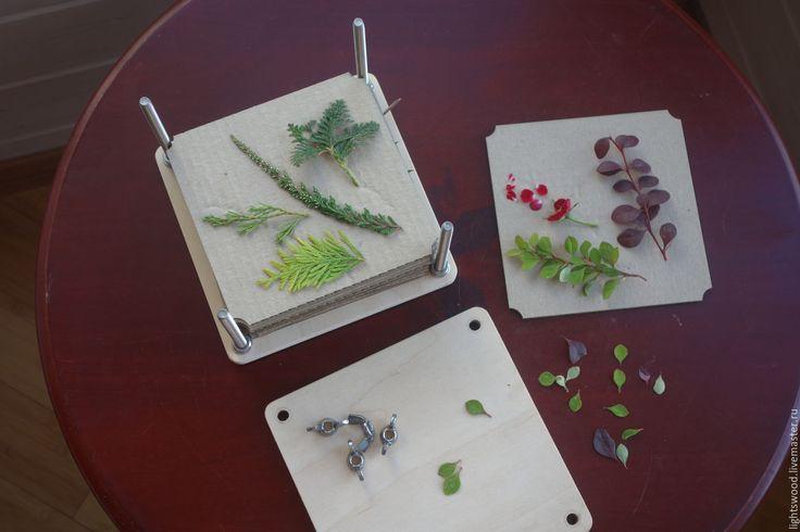 Купить Пресс для гербария - бежевый, пресс, пресс для цветов, пресс для…