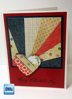 starburst tutorial- know lots of quilters so this would be great as a birthday card for them!