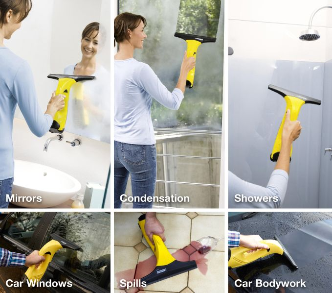 Karcher Window Vac is SO multifunctional