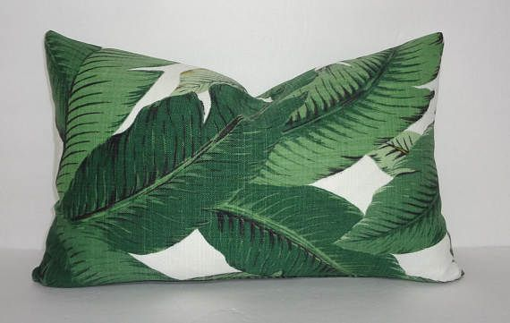 Outdoor/Indoor Palm Tree Pillow Cover Tommy Bahama Swaying