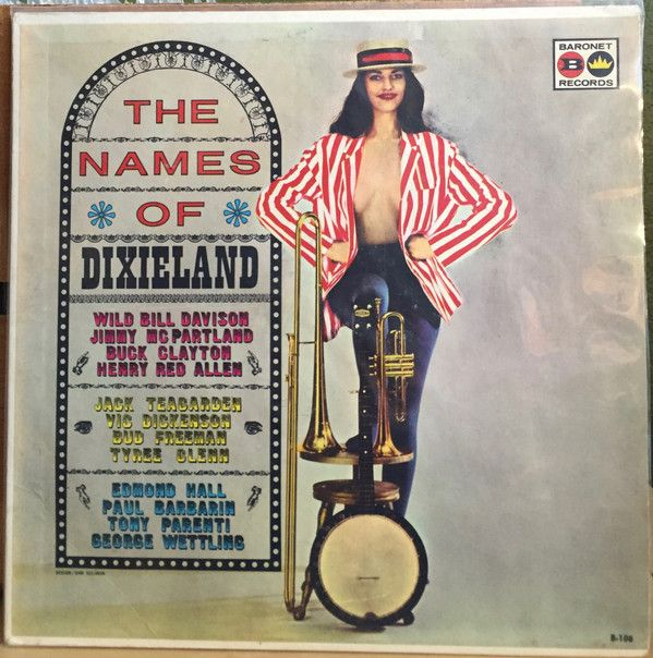 Various - The Names Of Dixieland (Vinyl, LP) at Discogs