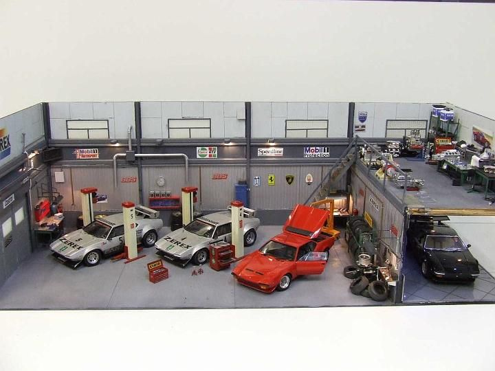 19 best images about scale models on pinterest toyota for Garage paris 15 auto