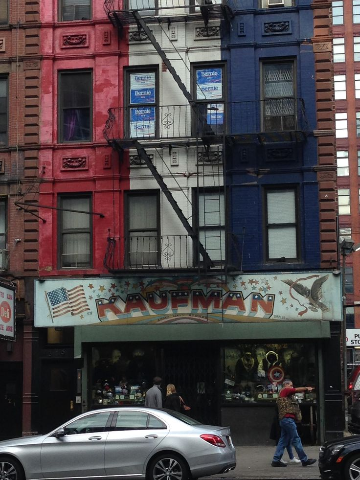 Kaufman Army & Navy surplus store on West 42nd in NYC