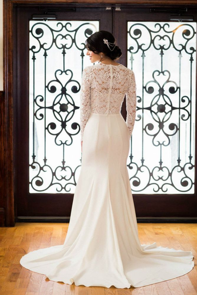 Lace Wedding Dress Modern Jewish Wedding Blog