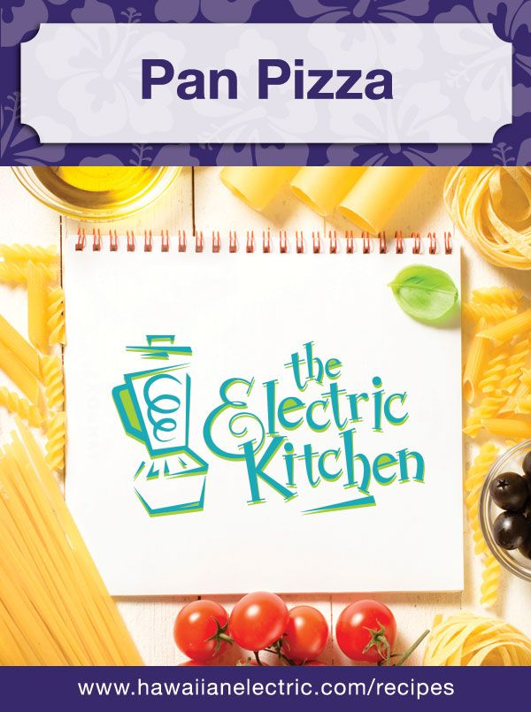 The Electric Kitchen recipe featured in the Honolulu Star-Advertiser on October 31, 2007. #electrickitchen #recipes #pizza
