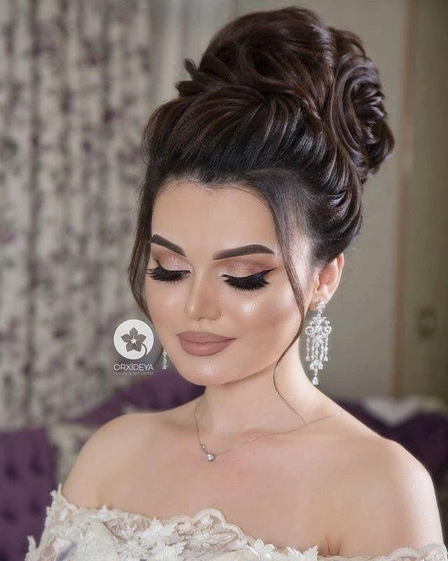 This Pin Was Discovered By Islam Islam Discover And Save Your Own Pins On Pinterest Bride Makeup Wedding Hair And Makeup Wedding Makeup Tips