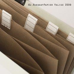 {scissor variations}: 30 Minute How To: Vintage Accordion Folder