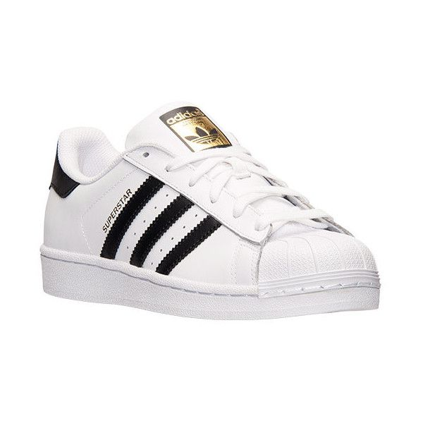 Women's adidas Superstar Casual Shoes (760 ARS) ❤ liked on Polyvore featuring shoes, sneakers, adidas, real leather shoes, adidas shoes, leather trainers and jogging shoes