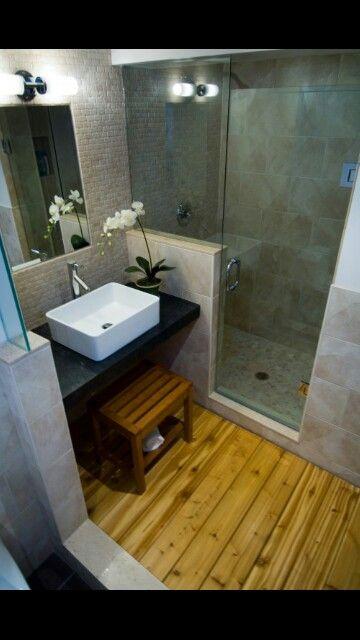 Boa solução para banheiros pequenos...