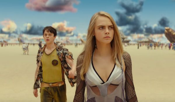 The New Valerian Trailer Features Pretty People, Scary Aliens And New Worlds #FansnStars