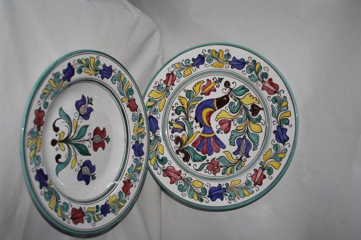 Romanian pottery (Corund)