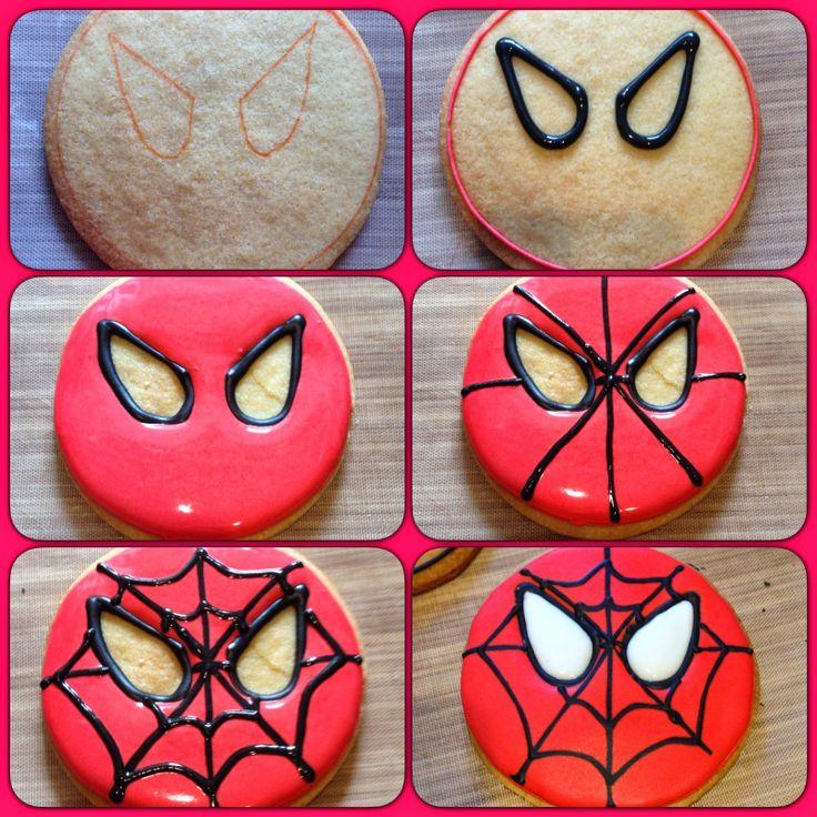Spiderman Cookies                                                       …