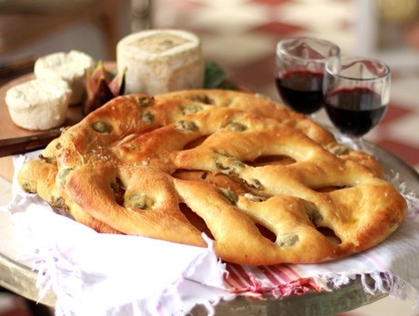 Bröd med oliver