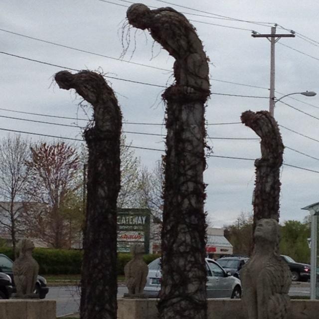 Gargoyles!  Burlington VT