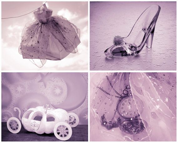 Cinderella Art 50 OFF Set of 4 8x10 prints by AnaPontesPhotography, $42.00