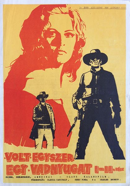 Once Upon a Time in the West (1974; 21 x 29 cm) - 200 USD at Budapest Poster Gallery