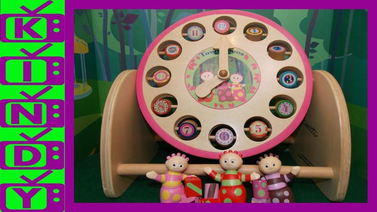 Learn to tell the time with The Tombliboos. In The Night Garden Wooden T...