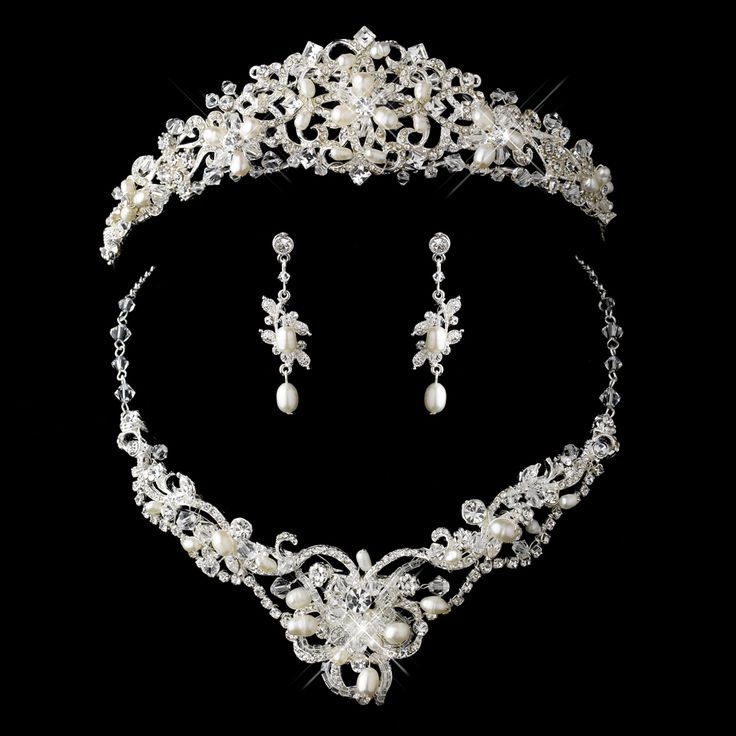 62 best Wedding Headpiece with Jewelry Sets images on Pinterest