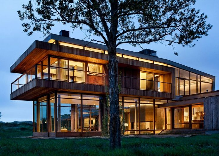Big Timber Riverside, A Private Home In Montana Designed By Hughes  Umbanhowar Architects; Via