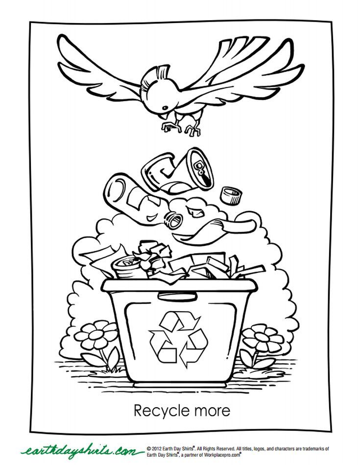 126 Printable Earth Day Coloring Pages For Kids