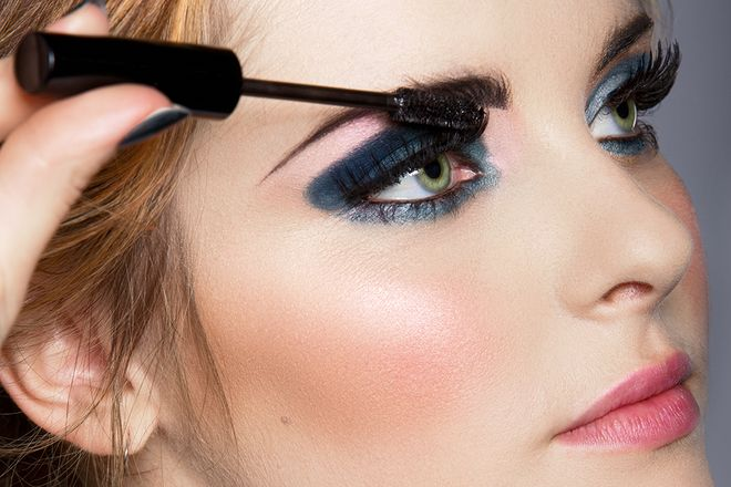 The Unexpected Makeup Trend for Spring | In the world of color, the shade of blue is often considered to be the redheaded stepchild. But this spring, it's the golden child, showing up on the eyes in washes of sheer color, strokes of precise eyeliner and strongly pigmented shadows.