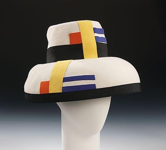 """Mondrian"" Sally Victor (American, 1905–1977) Date: ca. 1962 Culture: American Medium: wool, silk"