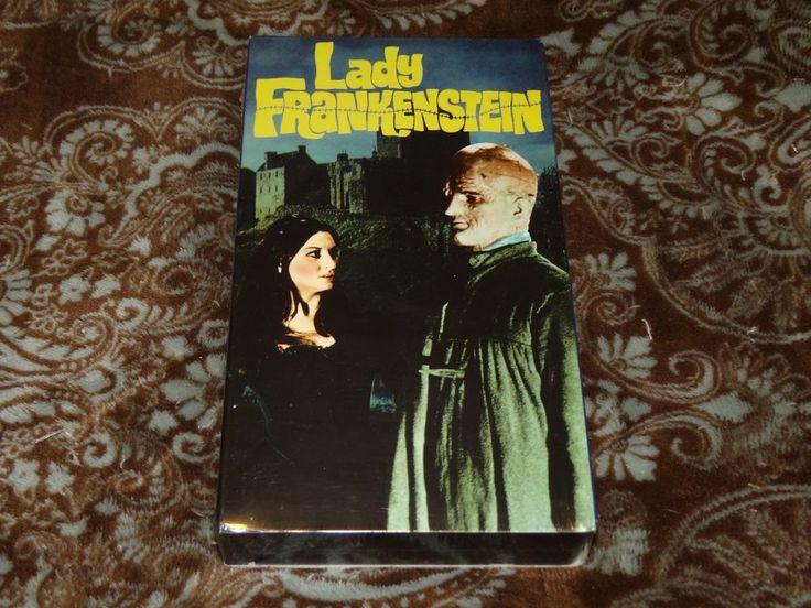 Lady Frankenstein (VHS, 1998) Rare OOP Alpha Video/Cult Italian Horror! *SEALED*
