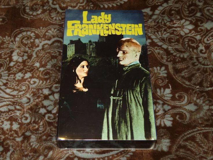Lady Frankenstein (VHS, 1998) Rare OOP Alpha Video/Cult Italian Horror! *SEALED*