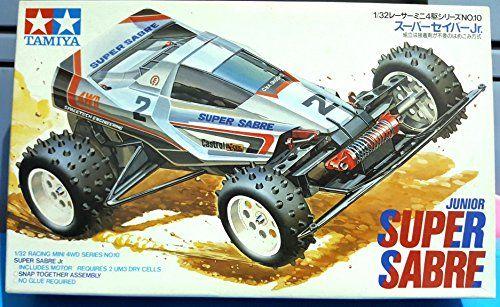 Super Sabre Tamiya Mini Racing 4 W/D Scale 1:32 1988 Made... https://www.amazon.co.uk/dp/B003F9VVJ2/ref=cm_sw_r_pi_dp_x_2TOtzb1HRTEC5