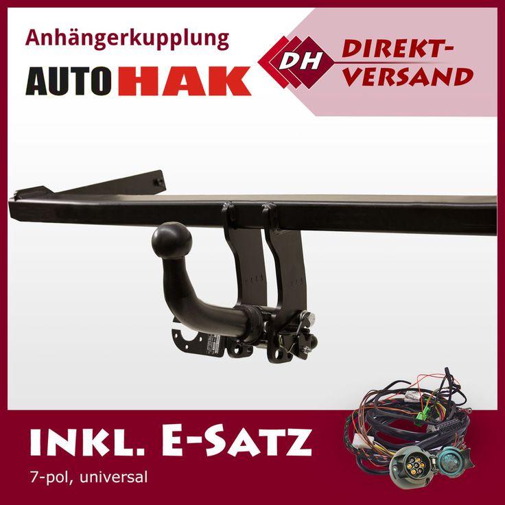 VW Passat Variant 3B/B5 (Auto Hak) Anhängerkupplung abnehmbar + E-Satz 7pol uni