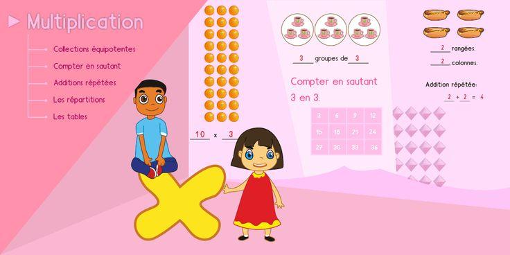 Exercices de multiplication en ligne quiz jeux fiches pdf for Multiplication jeux en ligne