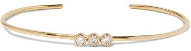 Jennifer Meyer - 18-karat Gold Diamond Cuff - one size