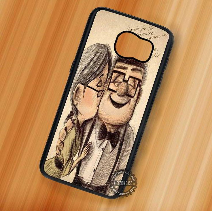 Carl & Ellie Up Disney Quote - Samsung Galaxy S7 S6 S5 Note 7 Cases & Covers