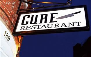 Cure restaurant Portsmouth nh
