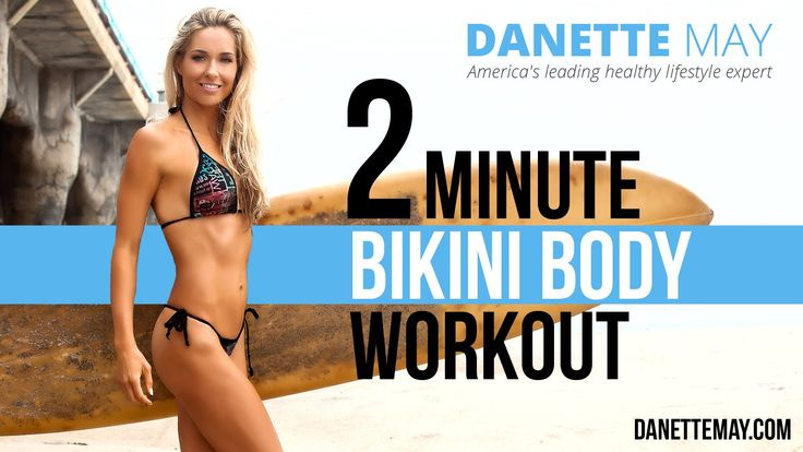 2 Minuten Bikini Body Workout – YouTube   – Danette May