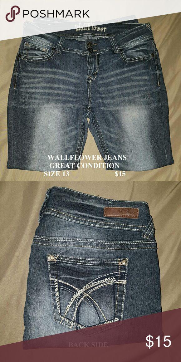 Wallflower Jeans Like new, Wallflower Jeans. Wallflower Jeans Flare & Wide Leg