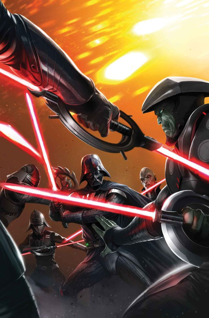 Guess Which Jedi Survived Revenge of the Sith? Star Wars: Darth Vader #7 just added another name to the official list of Jedi who survived the events of Revenge of the Sith. And this one should be instantly recognizable to fans of the Prequels. Warning: this article contains spoilers for Star Wars: Darth Vader #7! Having established how Vader defeated Jedi Master Kirak Infil'a and constructed his red lightsaber the series is now turning its attention to Vader's efforts to take control of the…