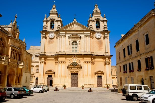 Malta Medieval Mystery Meets Modern In The Med Cathedral St Pauls Cathedral St Paul S Cathedral