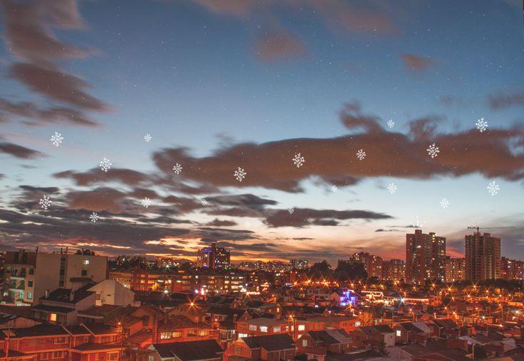 Old christmas. Bogotá. #lasoto