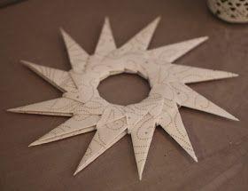 I decembers upplaga av Hus & Hem fanns det instruktioner om hur man kan vika en egen julstjärna. Har inte prövat på origami tidigare, så det...