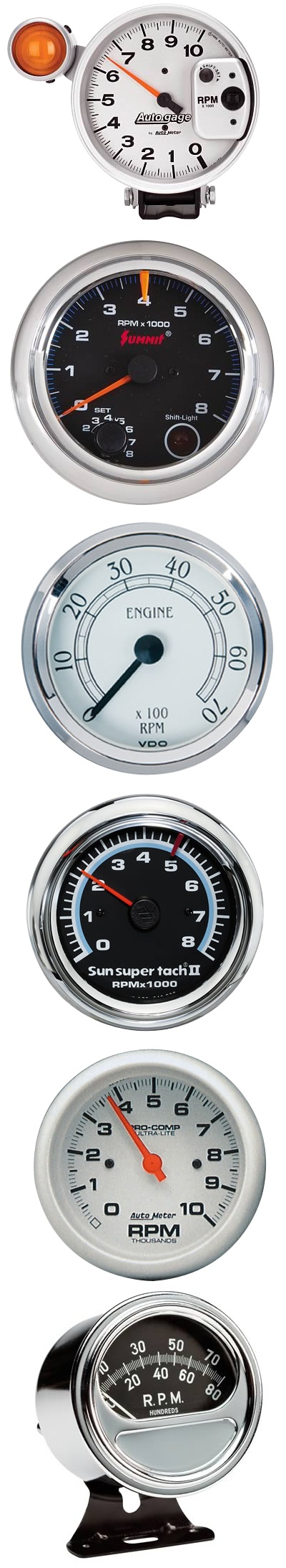 Keep track of your rpms with tachometers from auto meter dakota digital cyberdine and more whether you are looking for a nostalgic look or an digital