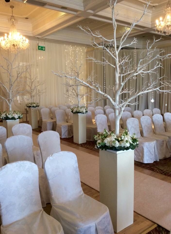 Gorgeous room set up for ceremony!