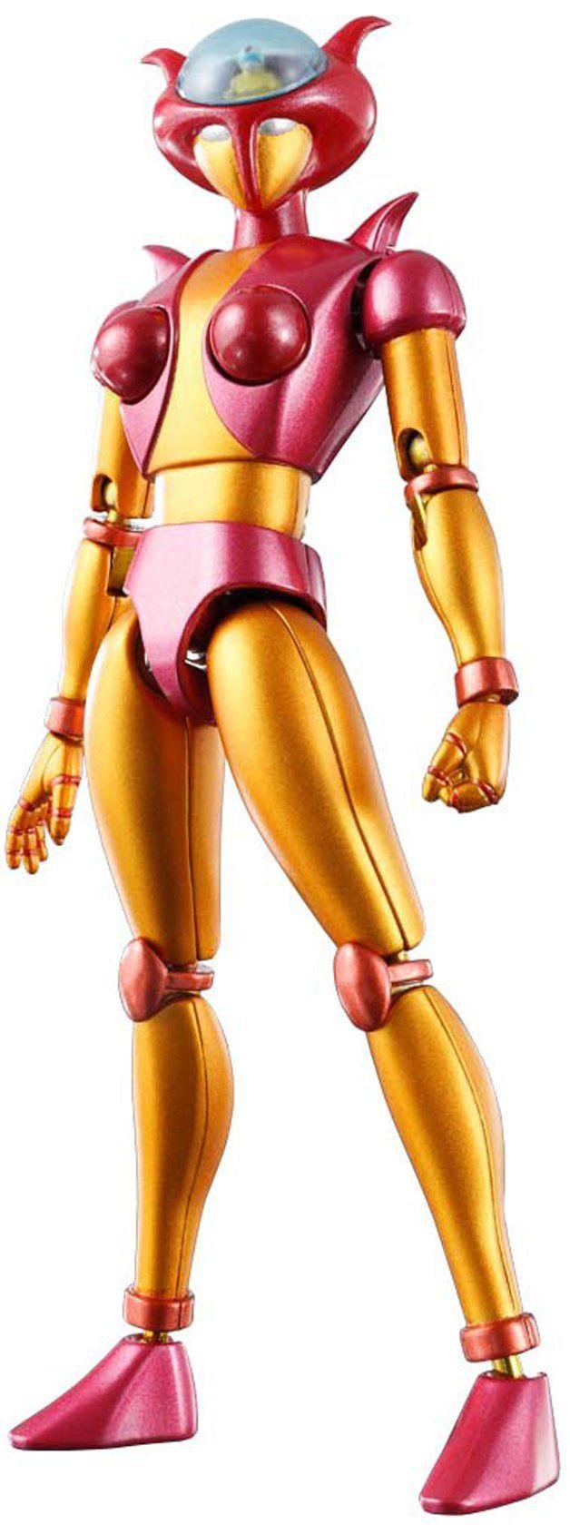 "Amazon.com: Bandai Tamashii Nations Soul of Chogokin Aphrodite A ""Mazinger Z"" Action Figure: Toys & Games"