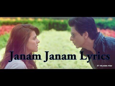 Janam Janam   Dilwale   Lyrics   - YouTube