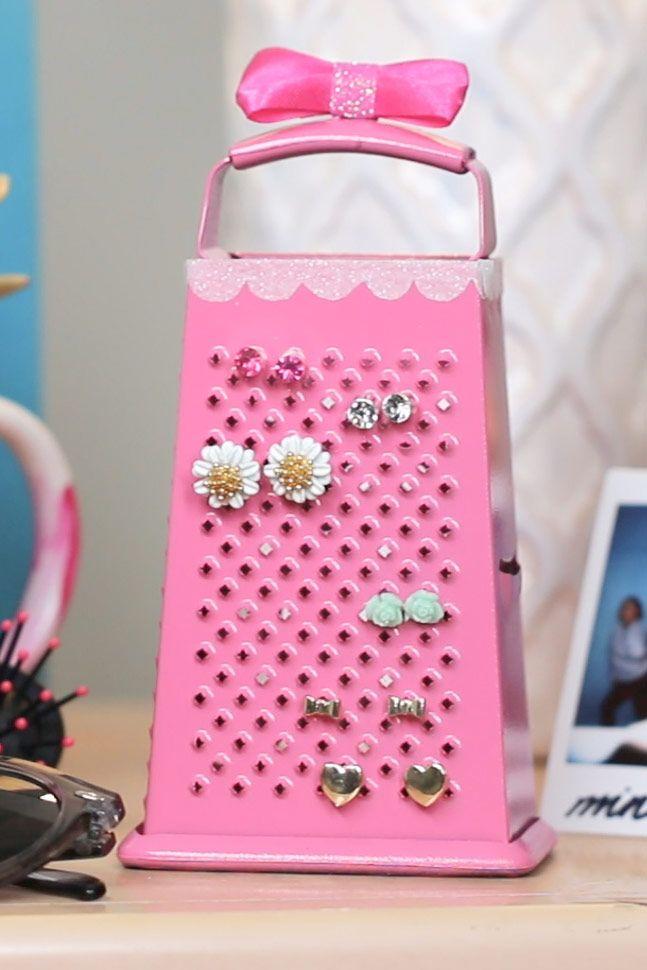 Best 25+ Diy earring holder ideas on Pinterest   Diy ...