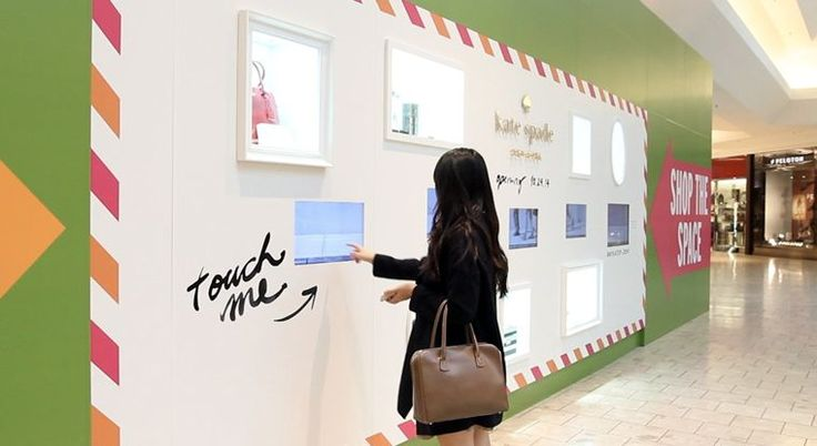interactive retail - Usually when space opens up at the mall, a giant billboard printed on the construction barricade announces the incoming store—not so with the...